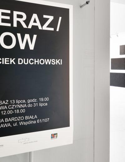 01.Teraz Now, Galeria Bardzo Biała, Warszawa, 2018 (fot.Adam Gut)