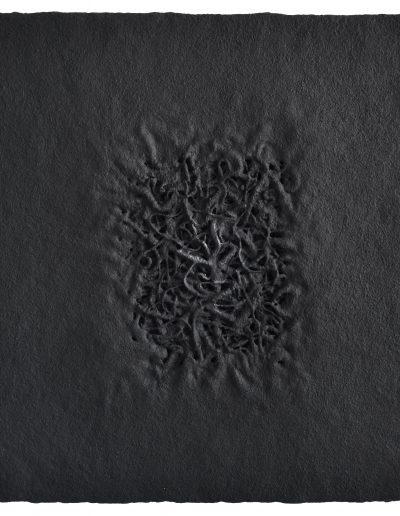 11. Bez tytułu, technika własna, Untitled, mixed media, 70x70 cm (fot.Adam Gut)