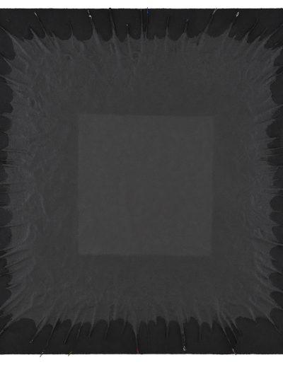 13. Bez tytułu, technika własna, Untitled, mixed media, 160x150 cm (fot Adam Gut)
