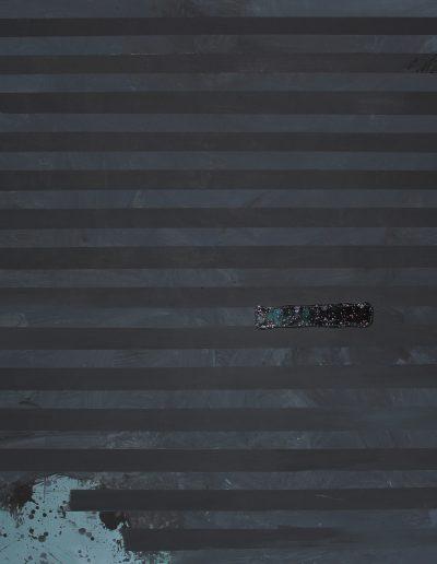 implant_#61, technika mieszana na płótnie, mixed media on canvas, 150x180 cm