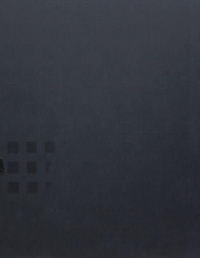 implant#62, technika mieszana na płótnie, mixed media on canvas, 150x180 cm
