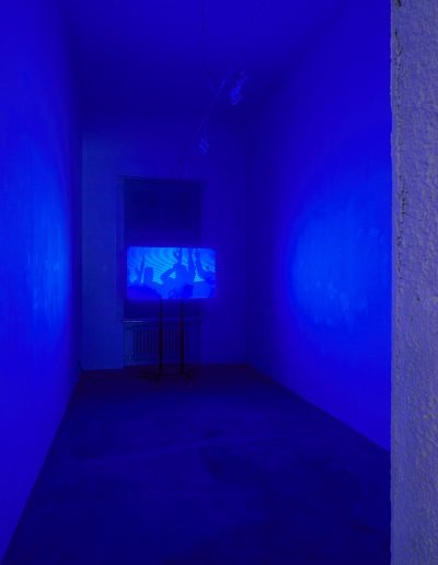 20.Mirosław Duchowski, Maciej Duchowski.Czas Rzeczywisty.Galeria 18 A, Warszawa, 2019 [fot Adam Gut]